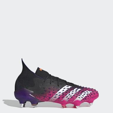Botas de Futebol Predator Freak.1 – Piso mole Preto Futebol