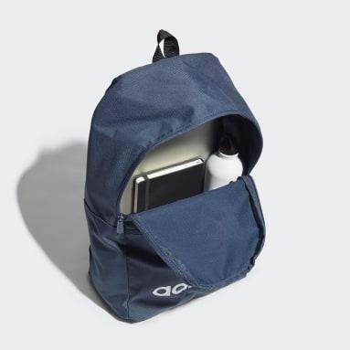 Sport Inspired สีน้ำเงิน กระเป๋าเป้ Linear Classic Daily