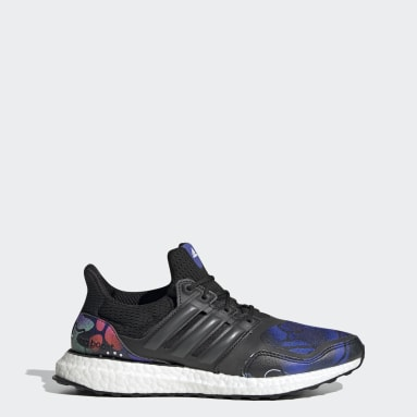 Women Running Black Ultraboost S&L DNA Shoes