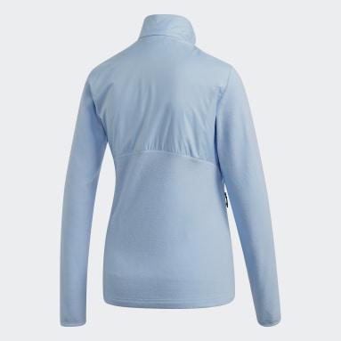 Chaqueta Windfleece Azul Mujer TERREX