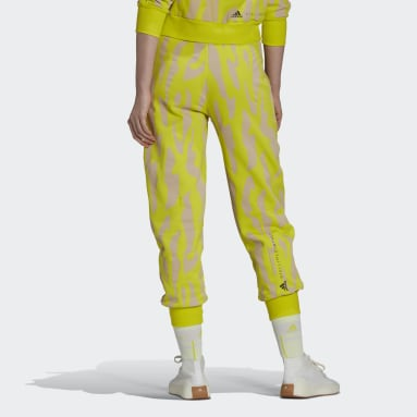 Dames adidas by Stella McCartney Geel adidas by Stella McCartney Sportswear College Joggingbroek