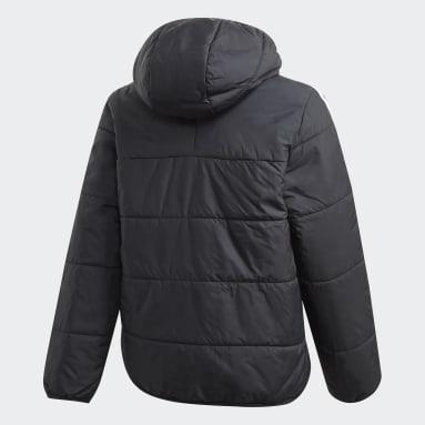черный Утепленная куртка
