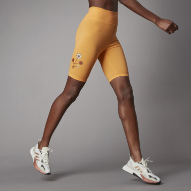 Women Sportswear Orange Terra Love Short Tights