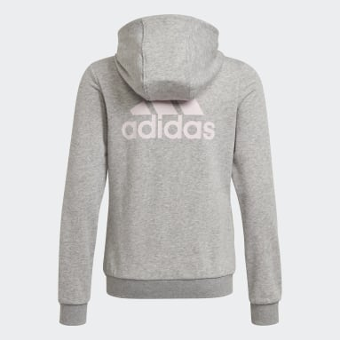Meisjes Sportswear Grijs adidas Essentials Trainingsjack