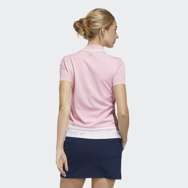 Women Golf Pink Polo Shirt
