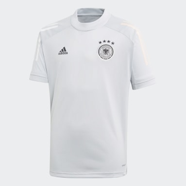 Camiseta entrenamiento Alemania Gris Niño Fútbol