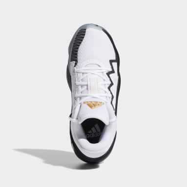 Youth Basketball White D.O.N. Issue #2 Shoes