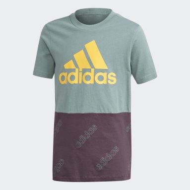 Camiseta Classics Verde Niño Diseño Deportivo