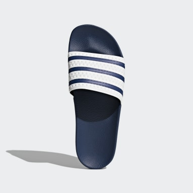 Originals Blue Adilette Slides