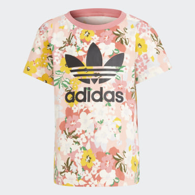 Kids 4-8 Years Originals Pink HER Studio London Floral T-Shirt