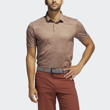 Polo Camo Rouge Hommes Golf