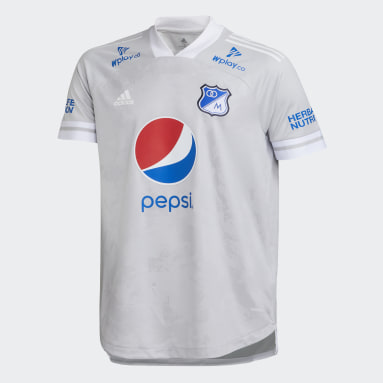 CAMISETA DE VISITANTE MILLONARIOS FC Gris Hombre Fútbol