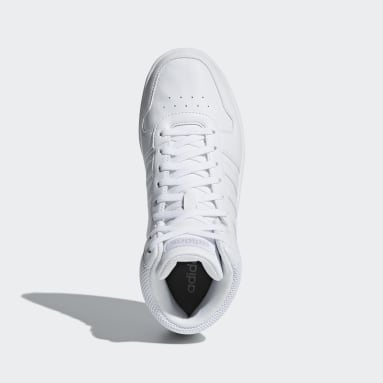 Chaussure Hoops 2.0 Mid Blanc Femmes Marche
