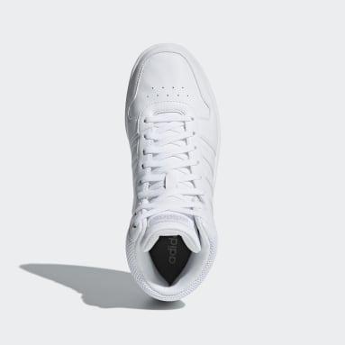 Zapatillas Hoops 2.0 Mid Blanco Mujer Essentials