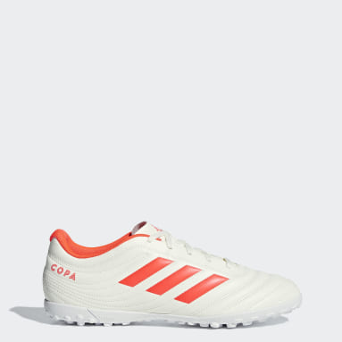 Men Football White Copa 19.4 Turf Boots
