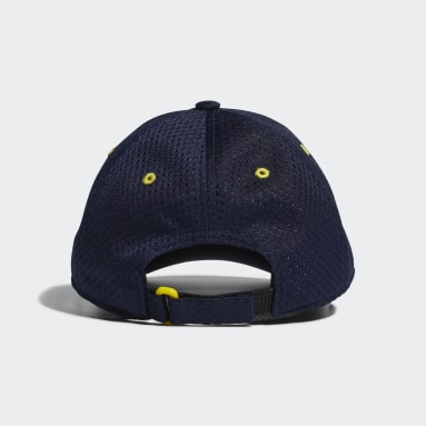 Children Training Blue Mesh Cap