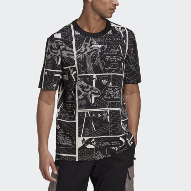 Heren Originals zwart R.Y.V. Graphic T-shirt