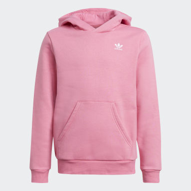 Youth 8-16 Years Originals Pink Adicolor Hoodie