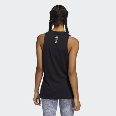 Women's Training Black adidas x Peloton Muscle Tank Top