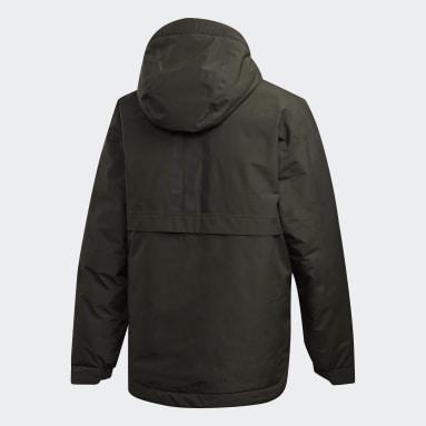 Traveer Insulated Rain Jacket Zielony