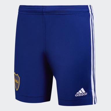 Shorts Tercer Uniforme Boca Juniors 20/21 Azul Niño Fútbol