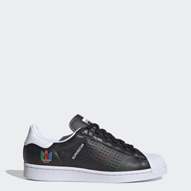 Originals สีดำ รองเท้า Superstar