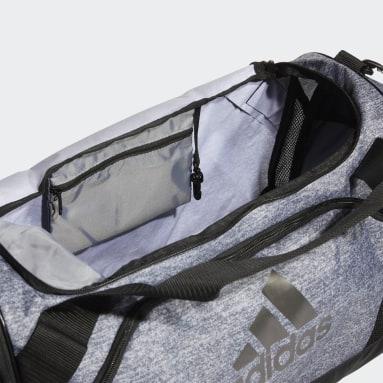 Football Grey Team Issue Duffel Bag Medium