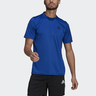 Polera AEROREADY Designed To Move Sport Azul Hombre Training