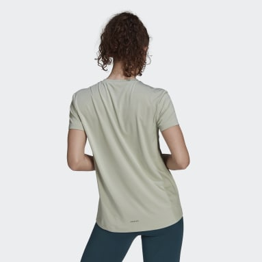 Women's Training Green Zoe Saldana AEROREADY Tee