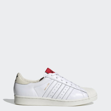 Originals White 424 Shell-Toe Shoes