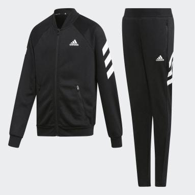 Pants Con Sudadera Yg Xfg Ts Negro Niña Training