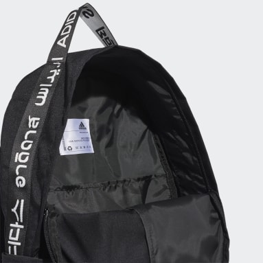 Tennis Black Classic 3-Stripes at Side Backpack