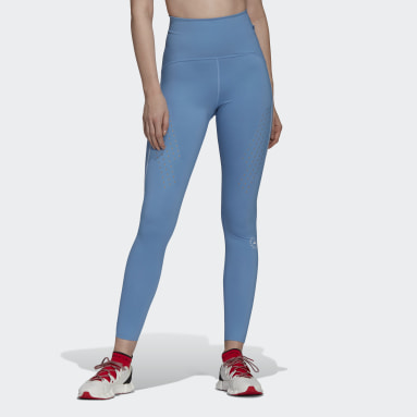 Tight TRUEPURPOSE Bleu Femmes adidas by Stella McCartney