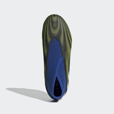 Chaussure Nemeziz.3 Laceless Terrain souple Noir Garçons Football