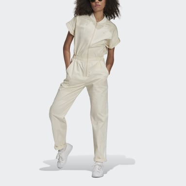 Dames Originals Wit No-Dye Jumpsuit