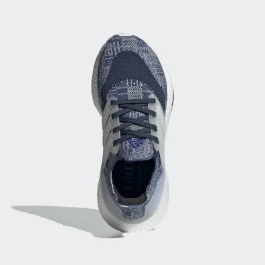 Chaussure Ultraboost 21 Primeblue Bleu Adolescents Course