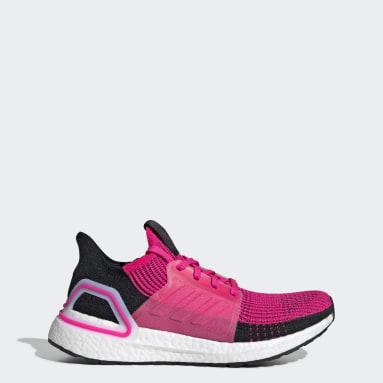 Women Running Pink Ultraboost 19 Shoes