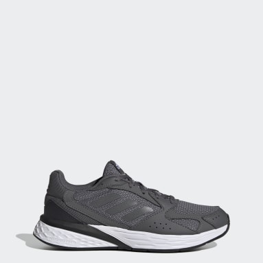 Women Running Grey Response Run Shoes