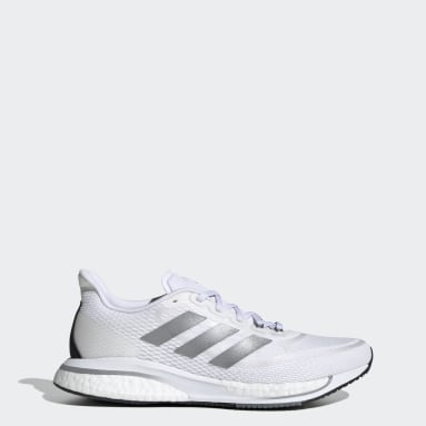 Women's Running White Supernova+ Shoes