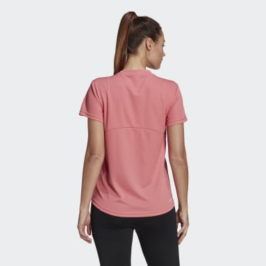 Remera AEROREADY Designed 2 Move Sport Rosa Mujer Training