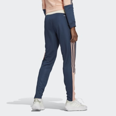 Women Soccer Blue Tiro Track Pants