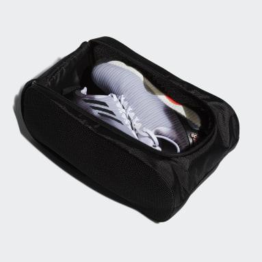 ผู้ชาย กอล์ฟ สีดำ กระเป๋ารองเท้า