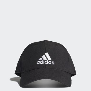 Tennis Black Baseball Cap