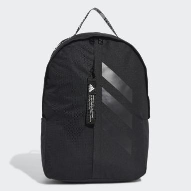 Tennis Sort Classic 3-Stripes rygsæk