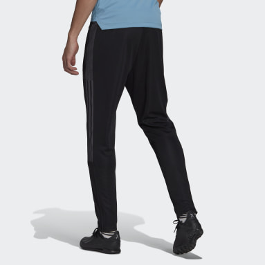 Men Soccer Black Tiro Track Pants