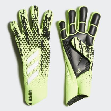 Fotbal zelená Rukavice Predator 20 Pro