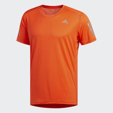 Camiseta Own the Run Naranja Hombre Running