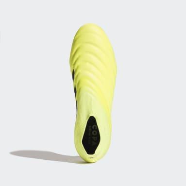 желтый Футбольные бутсы COPA 19+ Soft Ground