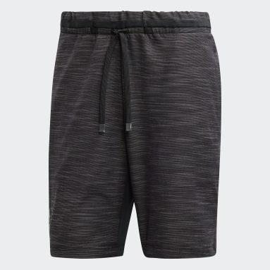 Men Tennis Black New York Shorts