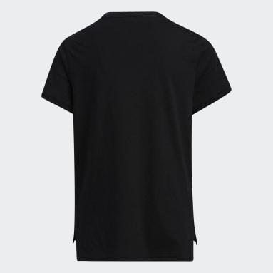 Youth Training Black Droptail Tee
